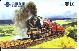 Train Trein Rail Locomotive  Télécarte Phonecard  (D.204) - Chine