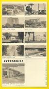 BRAZZAVILLE Rare Carte Lettre  (Hoa-Qui Bardon Huet) Congo - Brazzaville