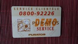 Intouch Puratos Used 2 Scans Rare - Belgium
