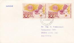XII KONGRES PRO VYZKUM KOSMU. 1969. MEILLEUR COLLECTION VOZNESENSKI - BLEUP - America Del Nord