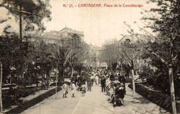 CARTAGENA. PLAZA DE LA CONSTITUCION. - Murcia