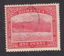 Dominica, Scott #51, Used, Roseau, Capital Of Dominica, Issued 1908 - Dominica (...-1978)