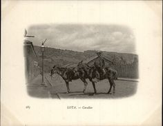 Campagne DUGUAY-TROUIN 1902-1903 - Voilier - Expédition - CHILI - LOTA - Cavalier - Cheval - Chili