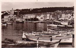 Cassis Belle Vue Du Port Bateaux Barques - Cassis