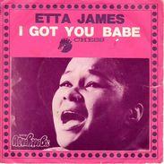 "COLLECTION DISQUE 45 T FUNK SOUL - ETTA JAMES 1968 ""I Got You Babe"" BIEM CHESS 169519 - Soul - R&B"