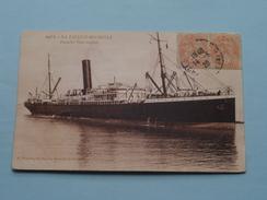 LA PALLICE-ROCHELLE Paquebot Poste Anglais ( 648 B ) Anno 1920 ( Zie Foto Voor Details ) !! - Ferries