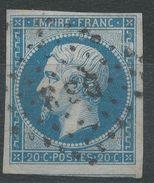 Lot N°39180  N°14B, Oblit Losange DS 3 De PARIS - 1853-1860 Napoléon III