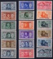 Colonie Italiane Sa  11 - 22 + A8 - A 13 Postfrisch/neuf Sans Charniere /MNH/** - Italien