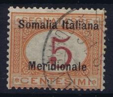 Somalia  Sa  Segnatasse 1 Mi 1 Obl./Gestempelt/used - Somalie