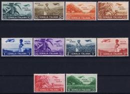 Somalia Ae  Sa  17 - 26 Mi 233 - 242 Postfrisch/neuf Sans Charniere /MNH/**  1936 - Somalie