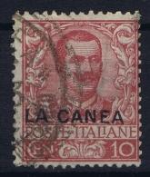 La Canea   Sa 6  Mi 6 Used / Obl  1906 - 11. Oficina De Extranjeros