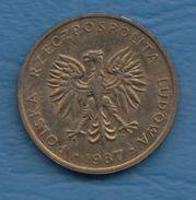 F3005A / - 5 Zlotych - 1987  -  Poland Pologne Polen Polonia - Coins Munzen Monnaies Monete - Polen