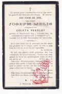 DP Joseph Melis ° Noorderwijk Herentals 1843 Tongerlo 1913 X Coleta Verelst - Images Religieuses