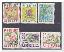 Libië 1955, Postfris MNH, Flowers, Plants - Liberia