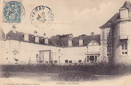 41 AVARAY. CPA. VUE RARE DU CHÂTEAU . ANNÉE 1904 . - Other Municipalities