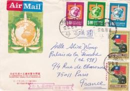 TAIWAN FORMOSE  :  Divers Sur Devant De Lettre - 1945-... République De Chine