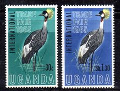 XP2998 - UGANDA 1965 , Yvert Serie N. 62/63  *** - Uganda (1962-...)