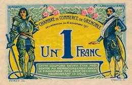 G503 - Billet 1 Franc - Chambre De Commerce De Grenoble - 1917 - Chambre De Commerce