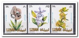 Libanon 1984, Postfris MNH, Flowers - Libanon
