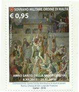 2016 - Sovrano Militare Ordine Di Malta 1328 Anno Santo Della Misericordia - Quadri