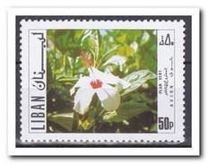 Libanon 1971, Postfris MNH, Flowers - Libanon