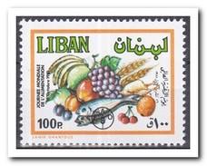 Libanon 1982, Postfris MNH, Fruit - Libanon