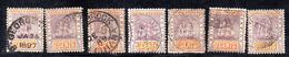 XP3651 - GUYANA 1889 , 2 Cent Yvert N. 71 : Sette Valori Usati - Guyana Britannica (...-1966)
