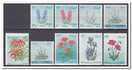 Libanon 1964, Postfris MNH, Flowers - Libanon