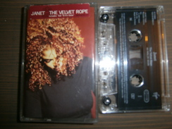 CASSETTE AUDIO  JANET  THE VELVET ROPE - Audiokassetten
