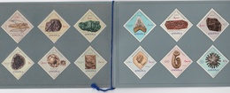 PORTUGAL COLONIES - MINISTÉRIO DO ULTRAMAR - ANGOLA - MINERAL STAMPS FOSSIL - COMPLET SET - Angola