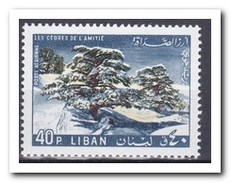 Libanon 1965, Postfris MNH, Trees - Libanon