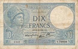 G503 - Billet 10 Francs - Minerve - 1941 - 1871-1952 Antichi Franchi Circolanti Nel XX Secolo