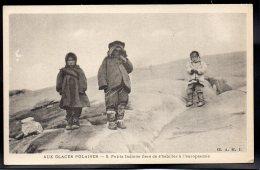 USA - ALASKA - Aux Glaces Polaires - Petits Indiens Fiers De S'Habiller à L'Européenne - Etats-Unis