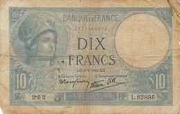 G503 - Billet 10 Francs - Minerve - 1940 - 1871-1952 Circulated During XXth