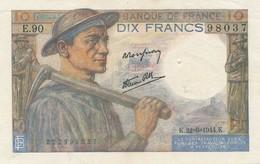 G503 - Billet 10 Francs - Mineur - 1944 - 10 F 1941-1949 ''Mineur''
