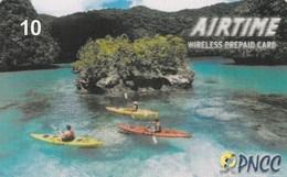 Palau -  Canoes On Sea - Palau