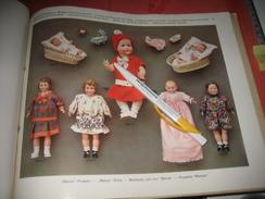 MINERVA 1930 Catalogue  Puppen Und Spielwaren NOSSEN,- BUSCHOW & BECK Metal Doll Heads, & Celluloide Poupées, Nossi Exc - Andere