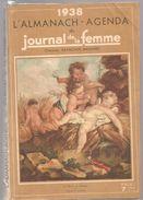 Almanach Agenda Du Journal De La Femme De 1938 - Calendriers