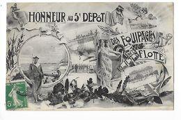 Honneur Au 5° Dépôt Des équipages De La Flotte   -  - L 1 - Regiments