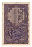 1 Gebrauchte Banknote Laut Abbildung 1.000 Marek 23.8.1919 - Poland