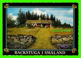 SMÂLAND, SUÈDE -  BACKSTUGA I SMALAND -  FOTO HALLBERG & CARLSSON - - Suède