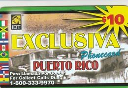 Puerto Rico -  $10 EXCLUSIVA - Puerto Rico