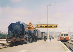 Loco 141 R Et Train N°1767 En Gare Du Tréport (76) - - Le Treport