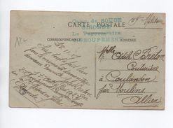 1927 - CARTE FM Avec CACHET Du CAMP DE SOUGE (GIRONDE) / 2° GROUPEMENT - Marcophilie (Lettres)