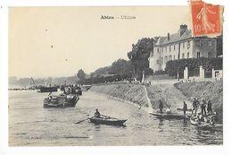 ABLON Sur SEINE  (cpa 94)  L'Ecluse  -  - L 1 - Ablon Sur Seine