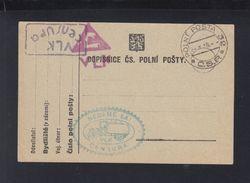 Czechoslovakia Field Post PC Unused - Czechoslovakia