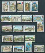 Mauritius Sg529  Basic Set Sg529/548  Mnh - Mauritius (1968-...)