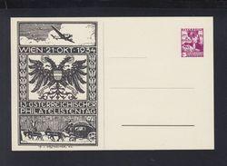 Österreich GSK Philatelistentag 1934 - Ganzsachen
