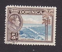 Dominica, Scott #109, Used, Scene Of Dominica, Issued 1938 - Dominica (...-1978)