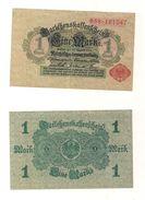 1 Gebrauchte Banknote Laut Abbildung 1 Mark 12.8.1914 Rote Serie - Altri